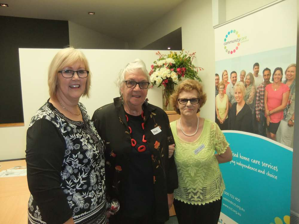 Community Care TASMANIA'S office staff and clients