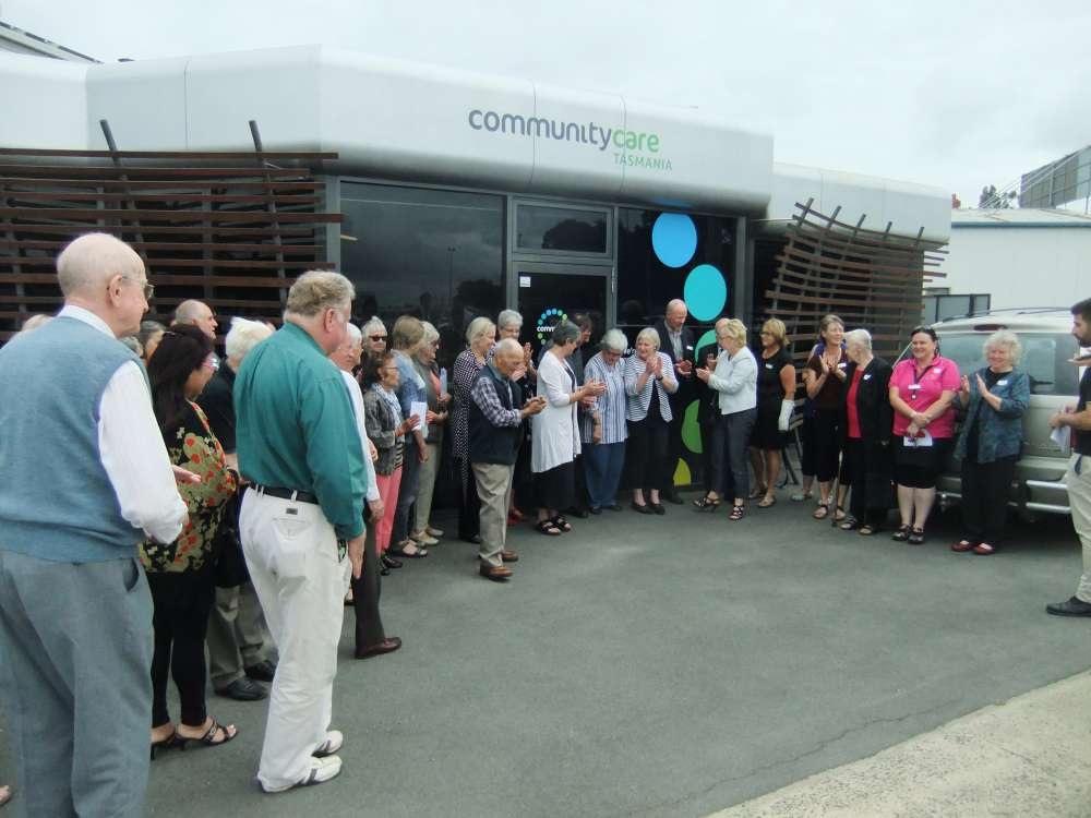 The ribbon cut our new care centre launched