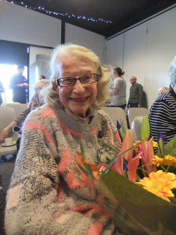 Margarite Deacon Longest Serving Volunteer 1996 - 2016