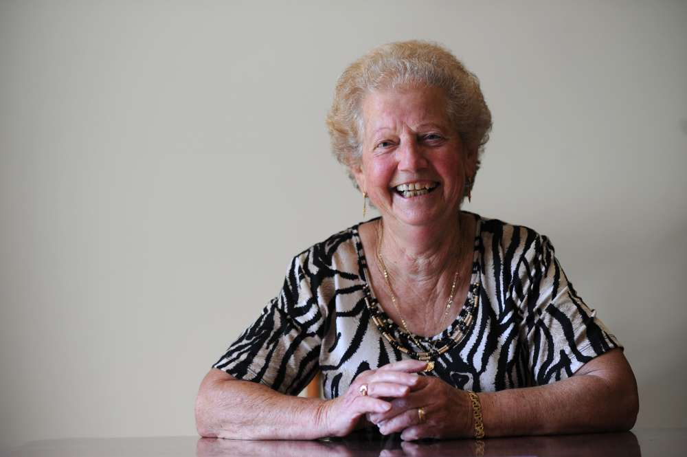 "Palmina from Launceston - Community Care TASMANIA ""helps keep me active and alive"""