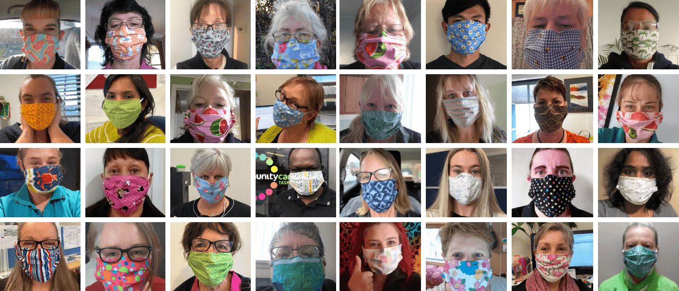 Thank You Our Face Mask Volunteers