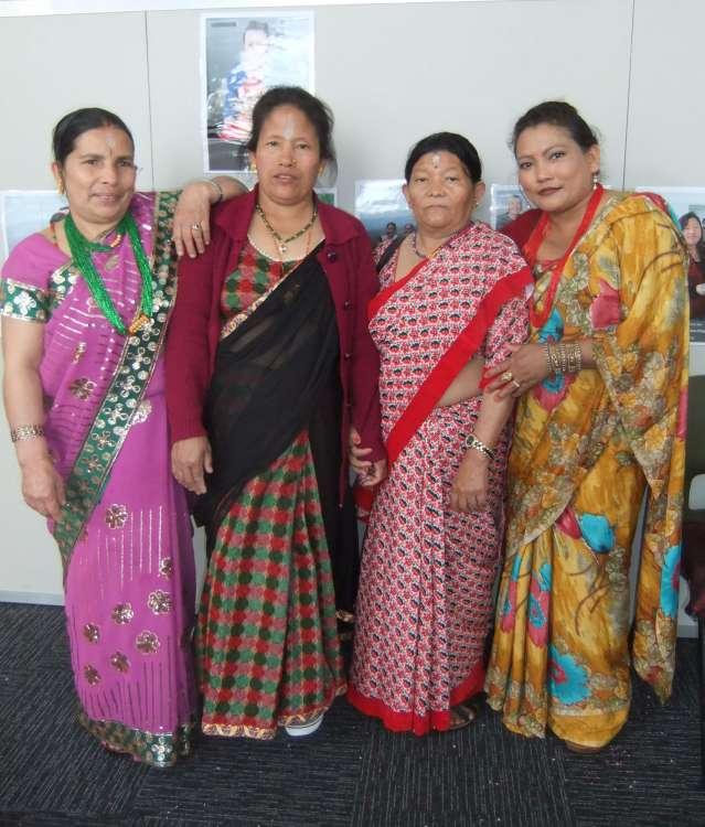 L-R: Niru Chuwan , Bibha Rai, Deerpa Rai & Malati Chhetri